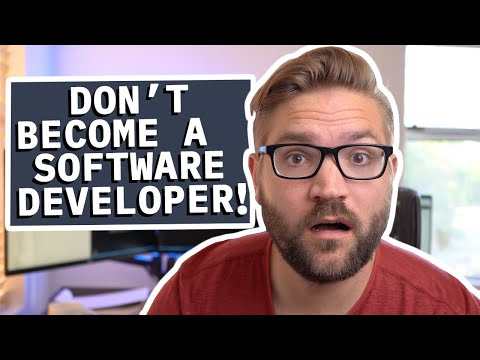 Why You Shouldn't Become a Software Developer in 2021