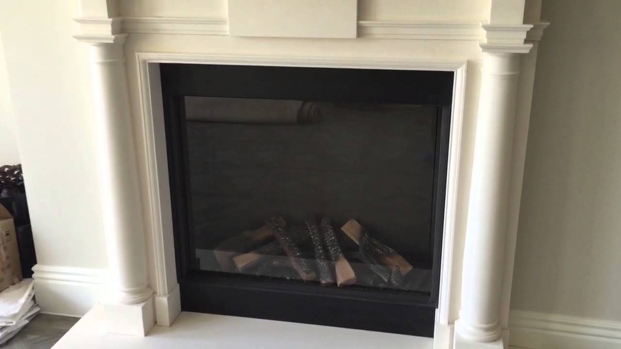 Sealing around fireplaces to pass your air testing - YouTube