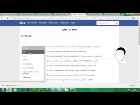 Cara Membuat Daftar Isi / Sitemap Responsive Berdasar Label di Blogger