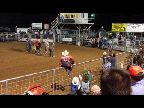 Prison Rodeo Games at the Stilwell Rodeo 5-13-17
