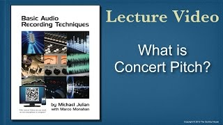 what is concert pitch?