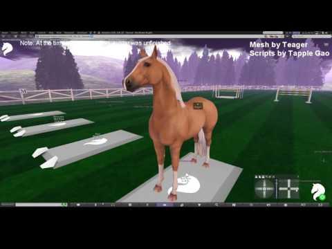 Teegle Horse Avatar Demo