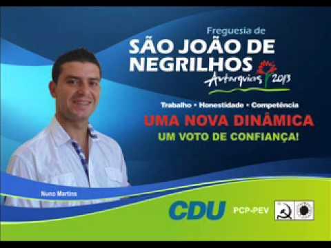 Entrevista ao candidato da CDU À Freguesia de São João de Negrilhos