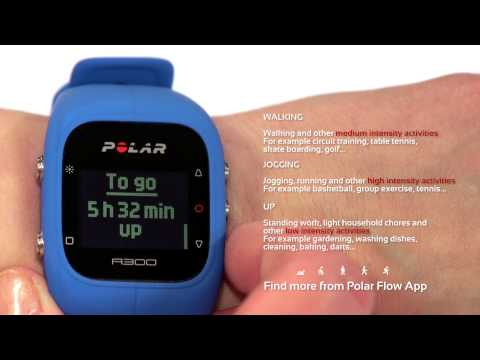 Activity tracking with the Polar A300 fitness watch