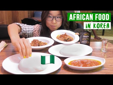 African Food in Korea (ft. Woojong Yi) ♦ Nigerian Cuisine in Seoul