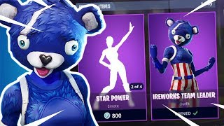 *NEW Firework Team Leader SKIN* Fortnite ITEM SHOP RESET! (July 3RD) NEW ITEMS & MORE!