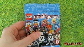 LASTENOHJELMIA SUOMEKSI - Lego Disney minifigures sarja 2 - osa 2