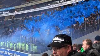 Eintracht Frankfurt- KSC 2:0 / PYRO // KSC-FANS // +1:0 Für SGE 3.12.11 Polizei- Pfefferspray