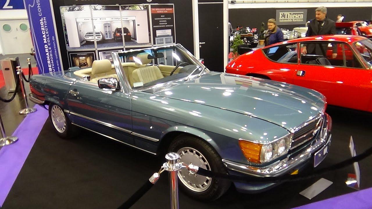 1988 Mercedes Benz 560sl Exterior And Interior Essen