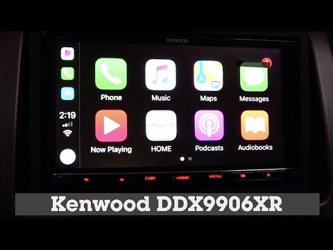 Kenwood Excelon DDX9906XR AC328BT Display and Controls Demo   Crutchfield Video