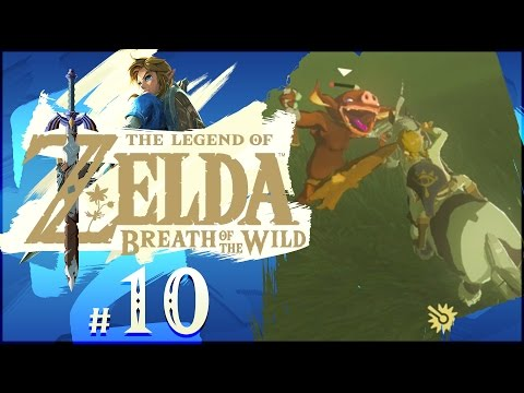 The Legend of Zelda: Breath of the Wild - Part 10 | Hila Rao Shrine + Horseback Riding!