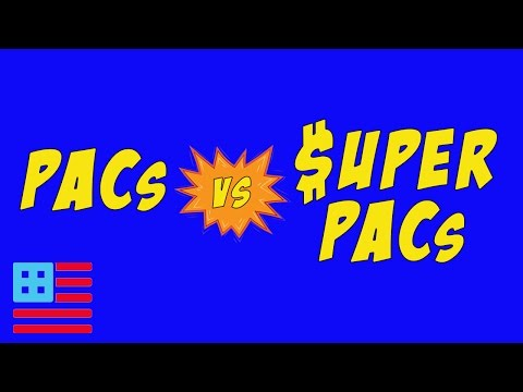 What's a Super PAC? What's a PAC? What's the difference?