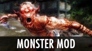 Skyrim Mod: Monster Mod - Reborn