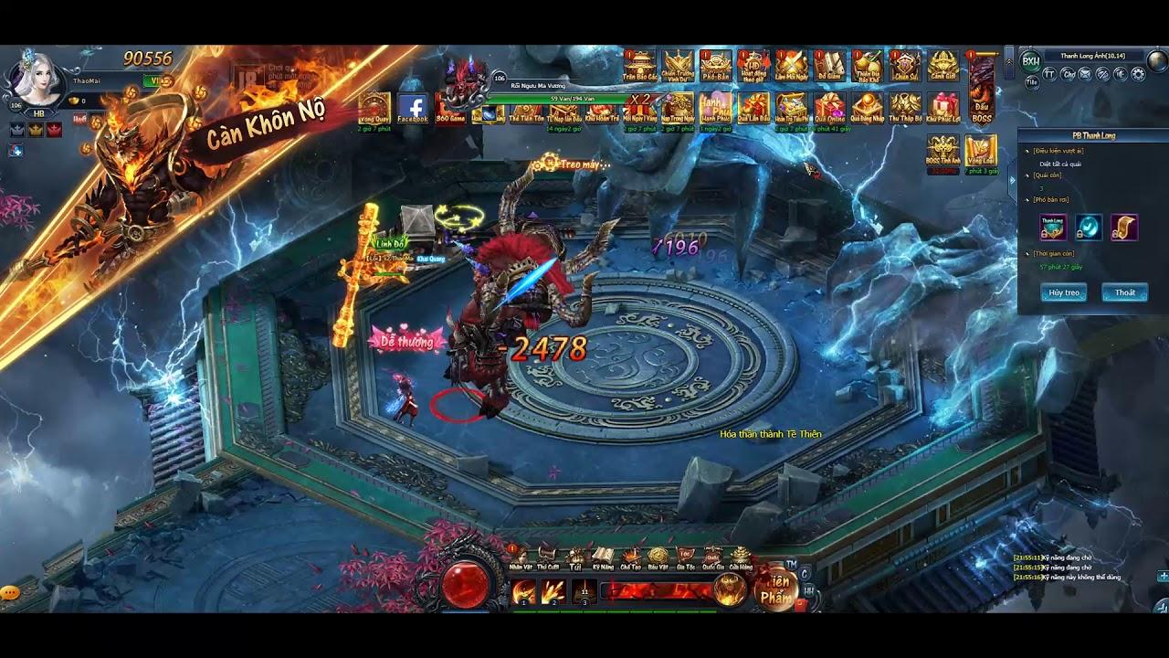 Best Game Tiên Hiệp 2019 – Thần Tiên Kiếp Online | Làm trận leo lever rầu ngủ | ThaoMai AMD