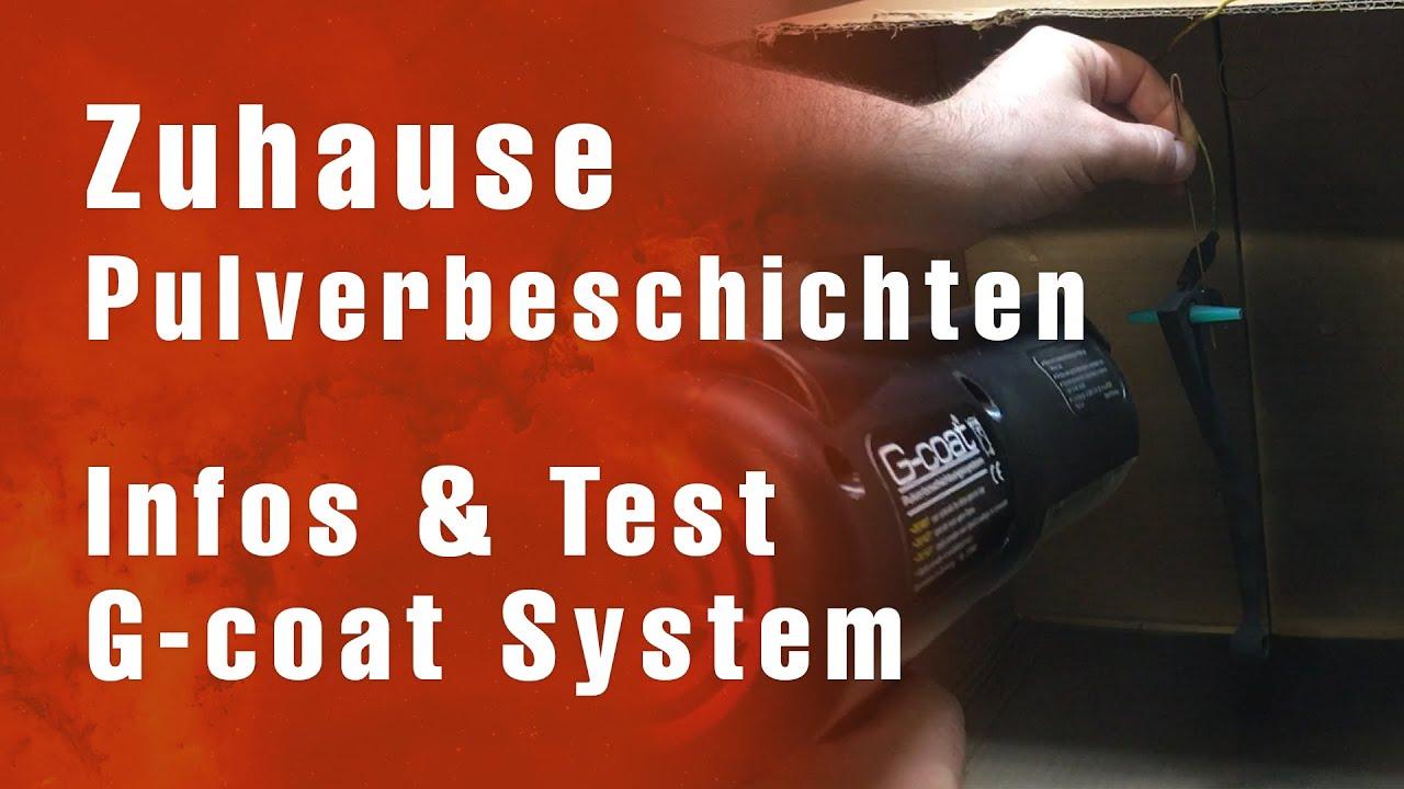 Zuhause pulverbeschichten - Grundlagen & G-coat System Test - DIY