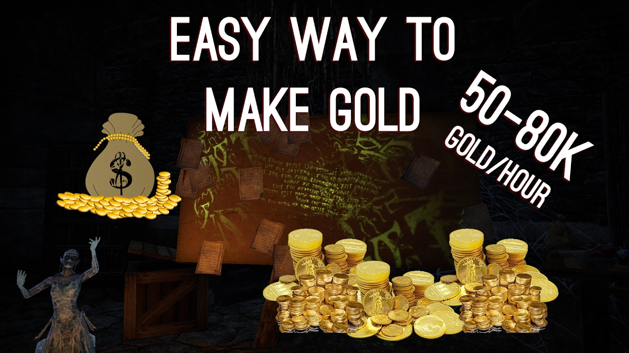 How to make easy Gold in ESO 50-80k/Hour - Homestead