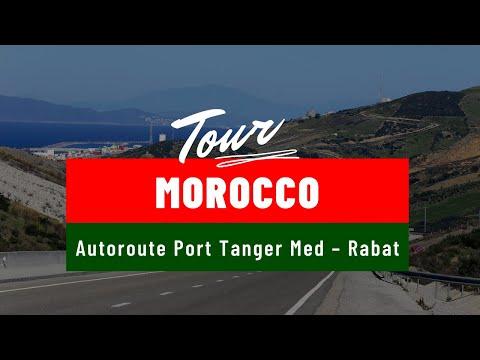 Autoroute Maroc Rabat - Kenitra sud partie 1