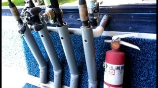 DIY Fishing Rod Holder for Boat