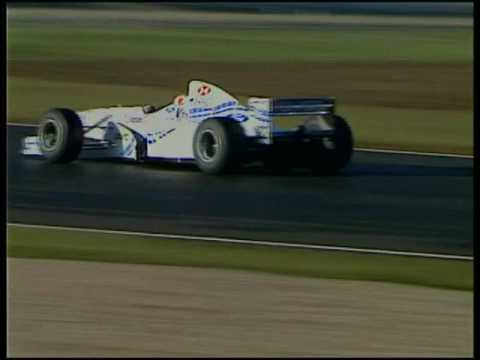 Ford Formula One Car with the Zetec Engine 1997