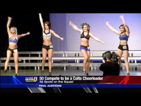 Colts Cheerleader Auditions - 2012