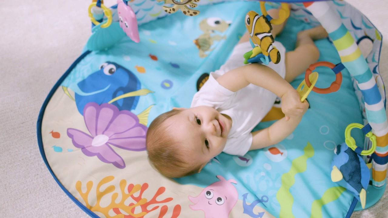 disney tapis d eveil avec lumiere mr ray ocean nemo
