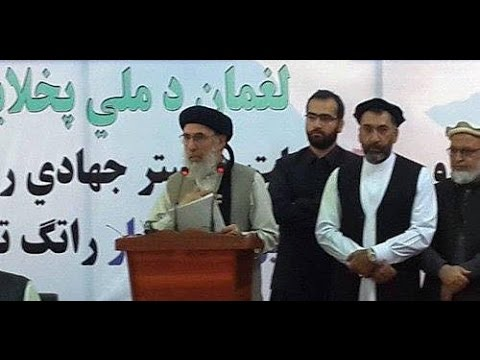 Afghan Hezb i Islami Leader G. Hekmatyar returns to his country calling for peace