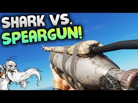 """Stranded Deep Gameplay - """"SHARK VS. SPEARGUN!!!""""  - Let's Play Walkthrough"""