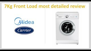 Midea Washing Machine Review in Hindi