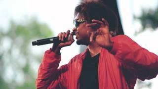 """Danny Brown """"Lie4"""" (Live at Central Park)"""
