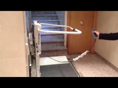 Plataformas salva escaleras rectas