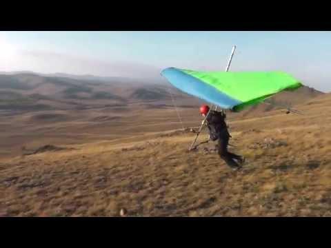 Дельтаплан полёты лучшие моменты Челябинск 2014 Hang gliding best moments