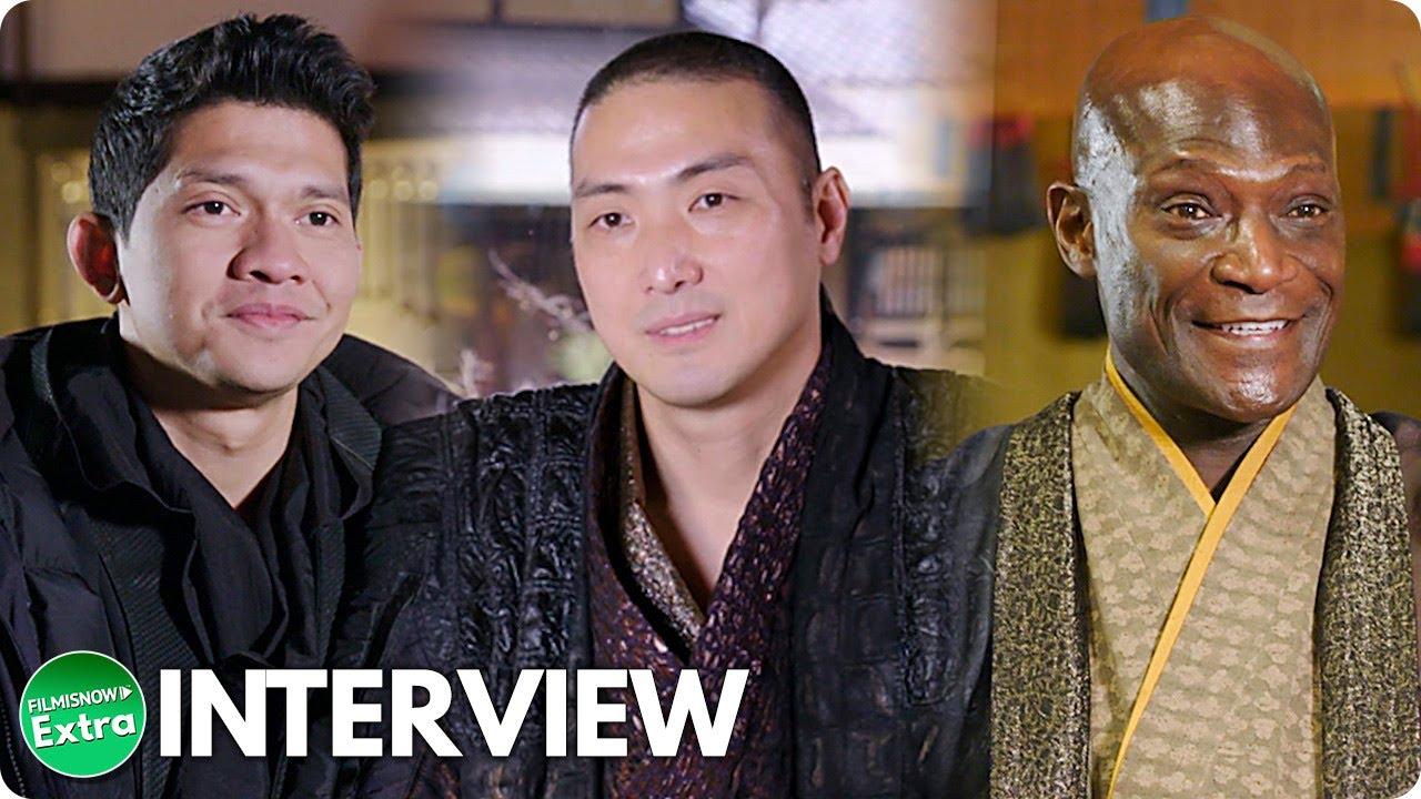 SNAKE EYES: G.I. JOE ORIGINS (2021) | Iko Uwais,Takehiro Hira & Peter Mensah On-set Interview