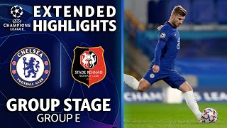 Chelsea vs. Rennes: Extended Highlights | Group Stage  Group E | UCL on CBS