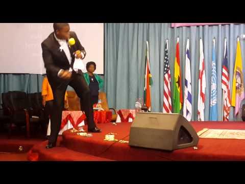 Pastor VE Mtileni of Bethesda Christian Church