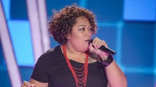 Lyric Mcfarland Sings Shy Guy: The Voice Australia Season 2