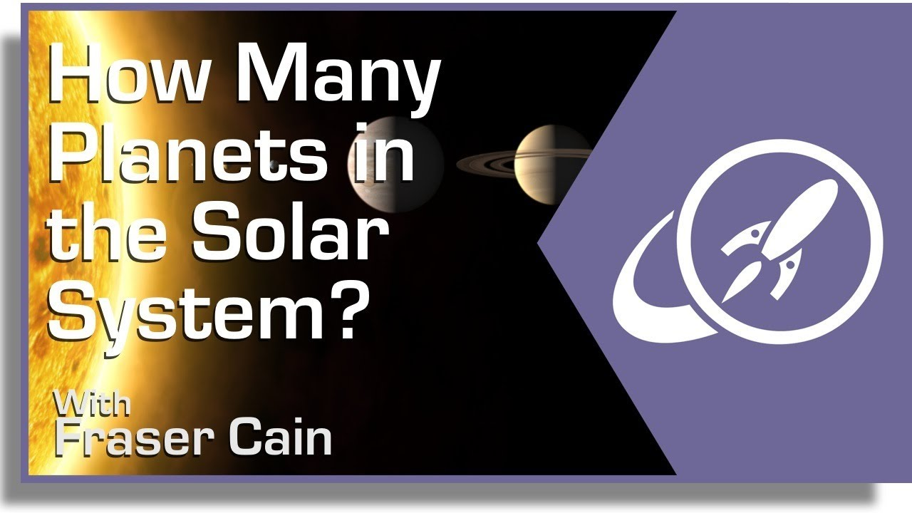 How Many Planets Are in the Solar System YouTube