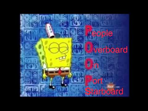 People Overboard On Port or Starboard