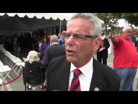US Rep. Alan Lowenthal (D- CA) on renaming Long Beach VA Hospital after Tibor Rubin