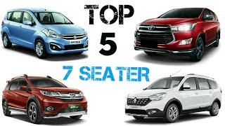 Best 7 Seater cars 2017 in India | Innova Crysta |renault lodgy | Ertiga | Go plus | Honda Brv