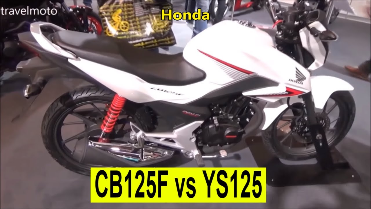 honda cb125f vs yamaha ys125 2017 youtube. Black Bedroom Furniture Sets. Home Design Ideas