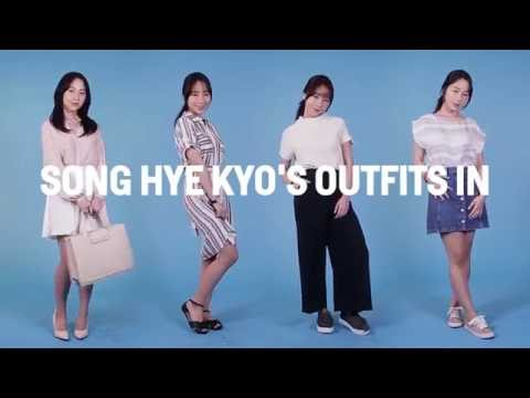 We Recreated Song Hye Kyo's Outfits In 'Descendants Of The Sun'