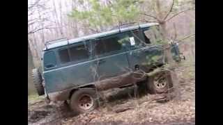 Funny russian 4x4 car