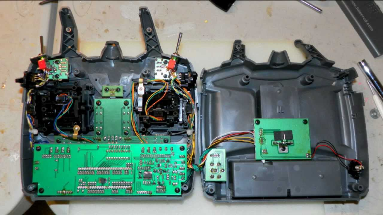 Hitec Optic 6 Tx 2 4 Ghz Mod For Frsky  Corona Etc  Modules