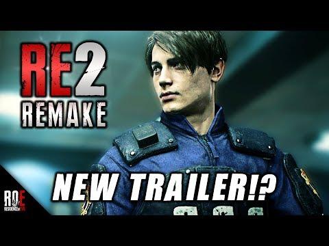 RESIDENT EVIL 2: REMAKE || Sony Announces NEW TRAILER!?