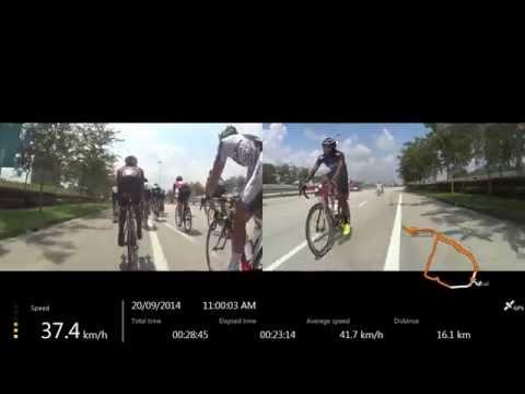 Nusajaya Challenge, Johor Circuit 2014, final 20 kilometres