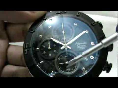 Alexandre Christie Watches AC 6292 MC Ceramic - Starloji.com - YouTube 2d22de7cd3