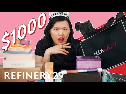 $1000 PR Unboxing With Beauty Editor   Beauty With Mi   Refinery29