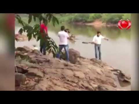 Gafe em Rondônia: candidato 'despenca' em rio durante gravação de propaganda eleitoral