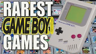 10 More Rare GameBoy Games | Rarest Gameboy & GameBoy Color Games