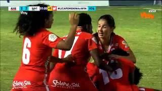 América vs. Nacional (2-2)   Liga Femenina 2019   Cuartos de final vuelta